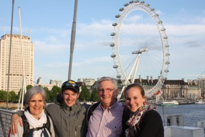 The Vitts Family at the London Eye in June 2014